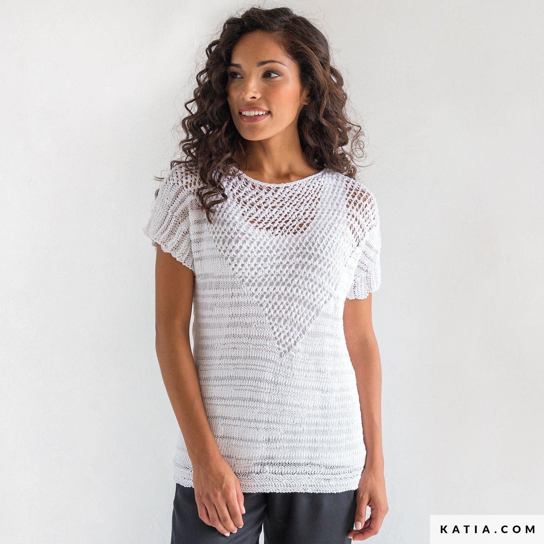 Sweater - Woman - Spring / Summer - models & patterns | Katia.com