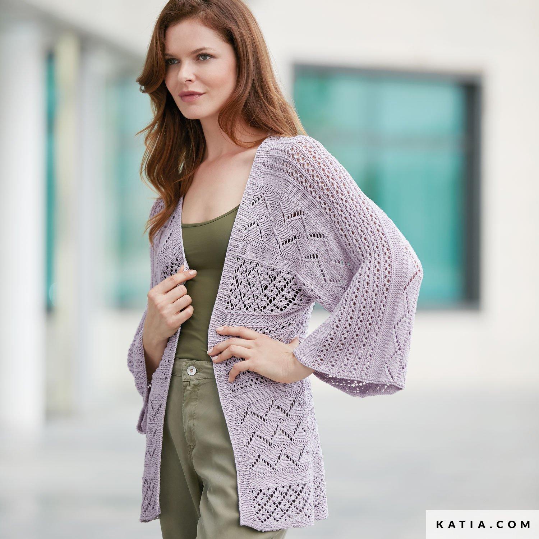Jacket Woman Spring Summer Models Patterns Katia