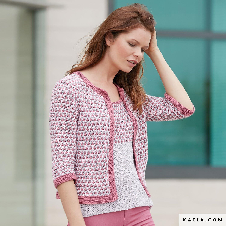 finest selection aa4ec ea1c2 Giacca - Donna - Primavera / Estate - modello & schemi ...