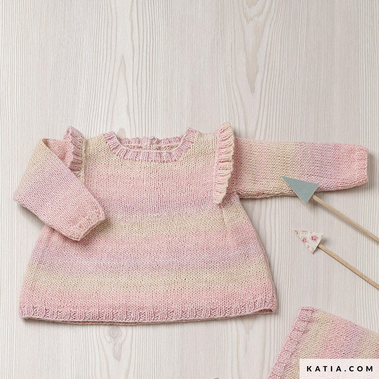 Kleid Baby Herbst Winter Modelle Anleitungen Katia Com