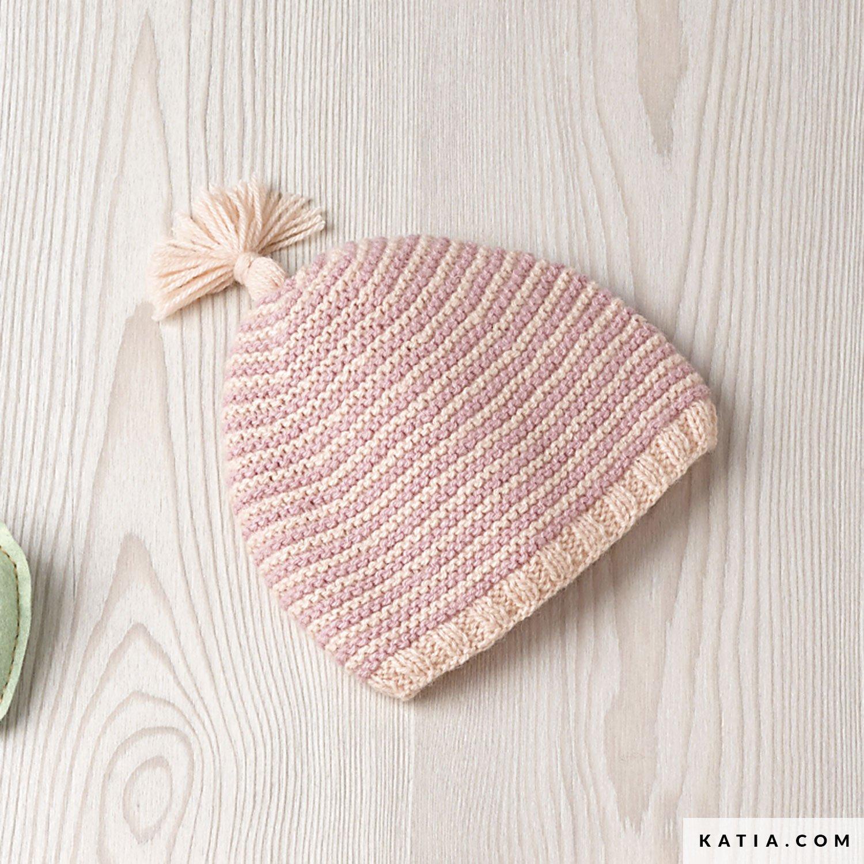 Encantador Sombrero Libre Del Bebé Patrón De Tejer Patrón - Manta de ...