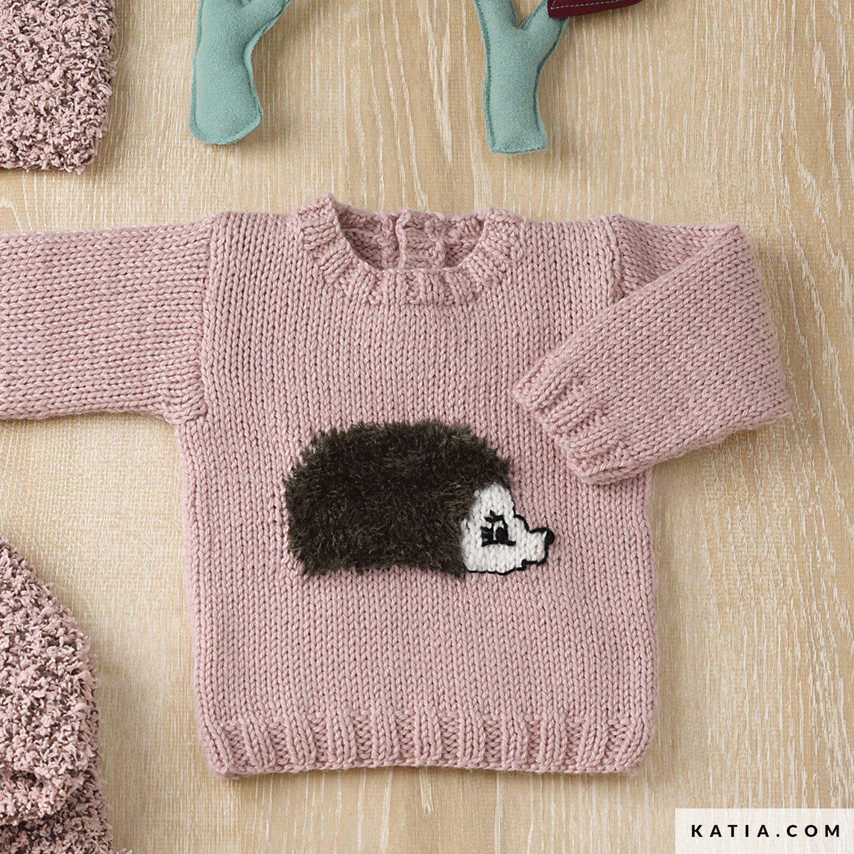 Jersey - Bebé - Otoño / Invierno - patrones | Katia.com