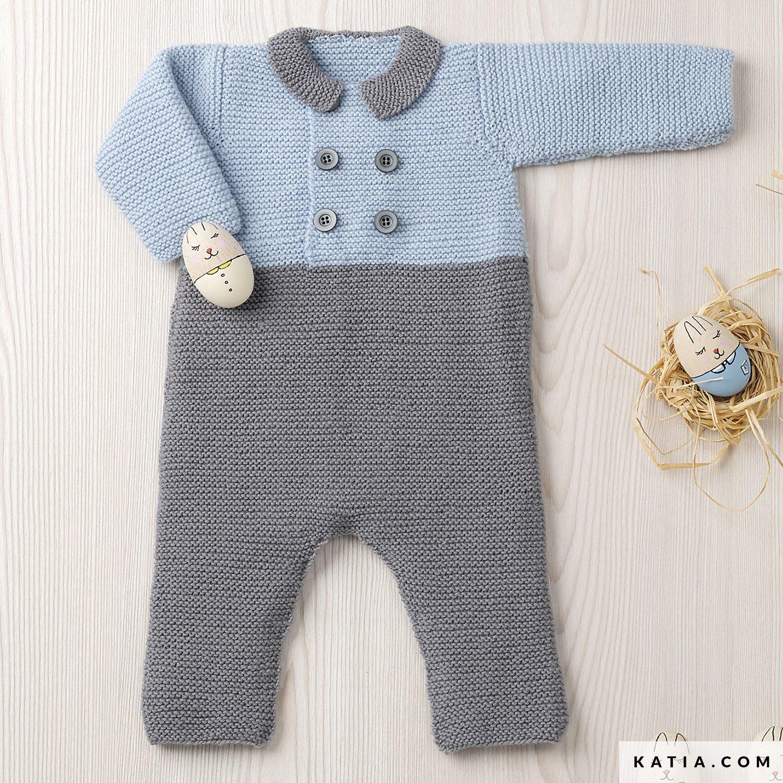 Pelele - Bebé - Otoño / Invierno - patrones | Katia.com