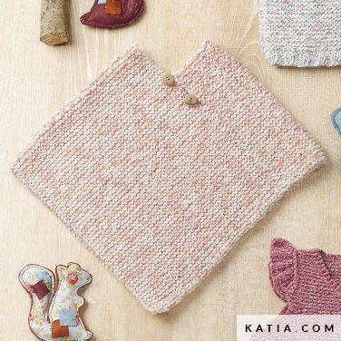 Poncho Baby Herfst Winter Modellen Patronen Katiacom