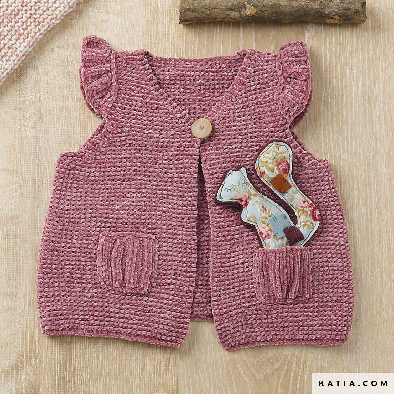 Vest Baby Herfst Winter Modellen Patronen Katiacom