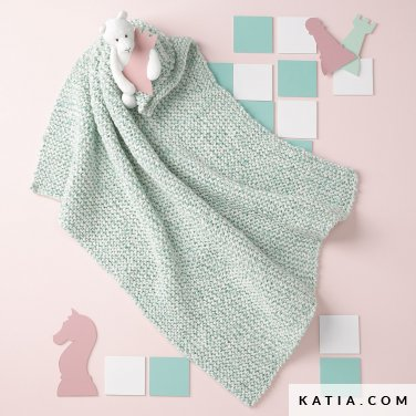pattern knit crochet baby baby wrap autumn winter katia 6090 8 p