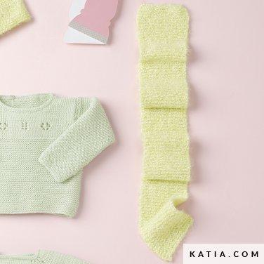 Scarf Baby Autumn Winter Models Patterns Katia