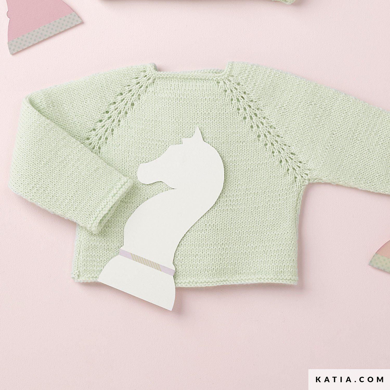 Baby Nature jumper with raglan sleeves