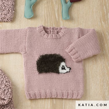 3258b660980af pattern knit crochet baby sweater autumn winter katia 6090 35 p