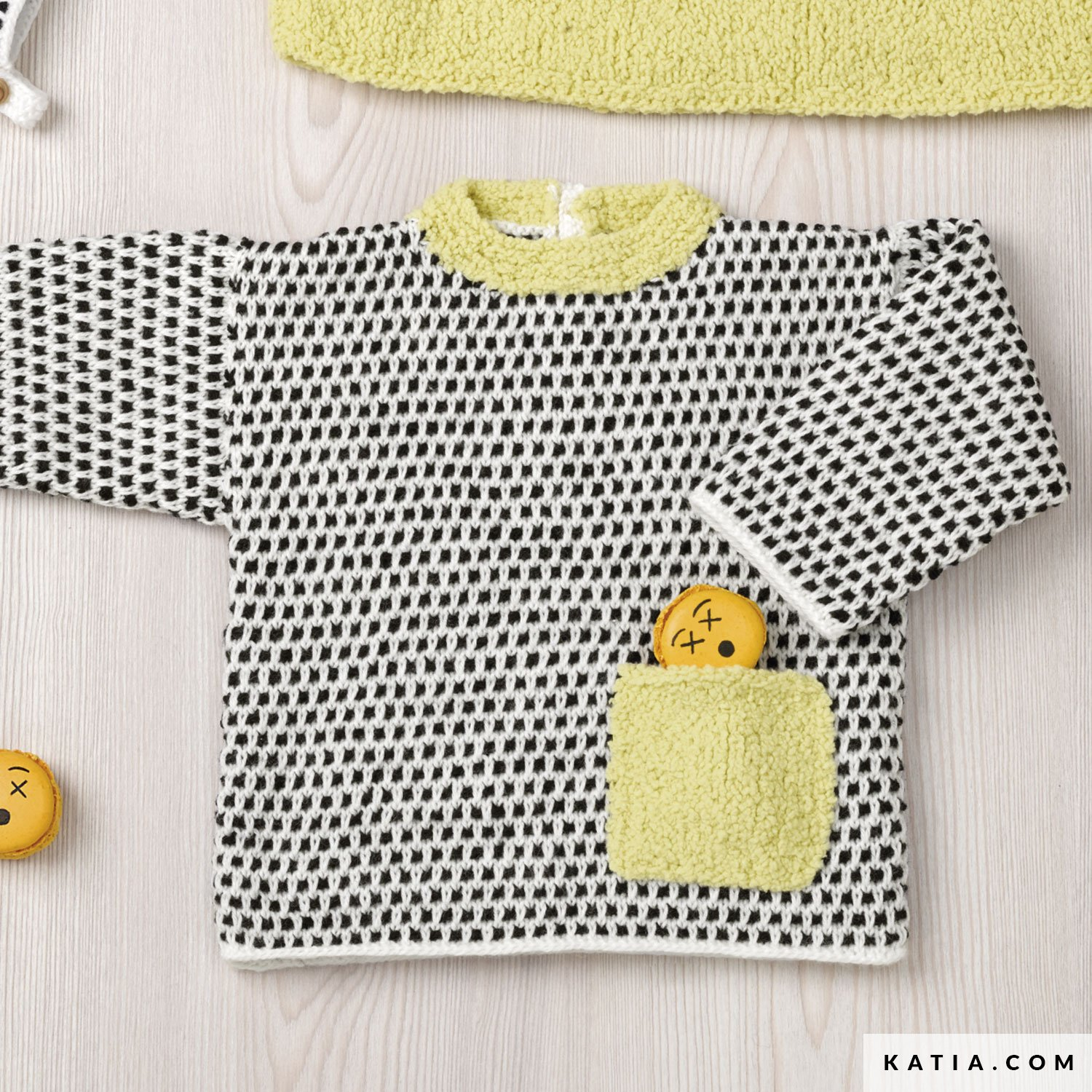 3b786d785c9a7 ... pattern knit crochet baby sweater autumn winter katia 6090 52 g crazy  price 1e2a0 1f21d ...