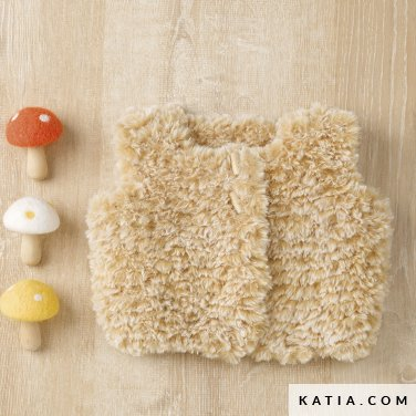 pattern knit crochet baby vest autumn winter katia 6090 42 p