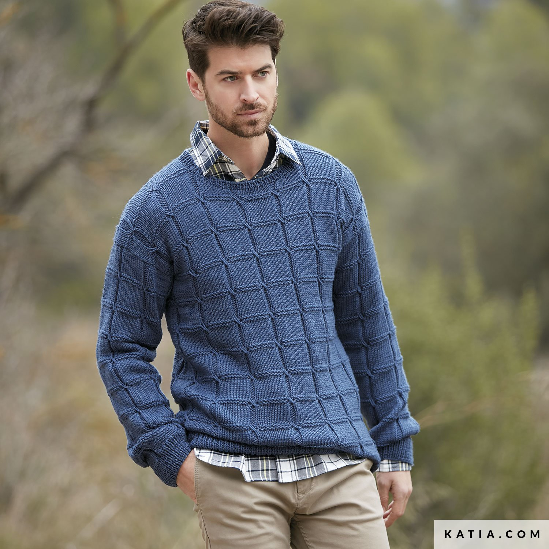 Männer Pullover Stricken Anleitung