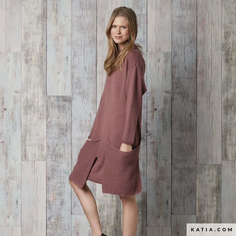 Modelos de vestidos de punto ingles