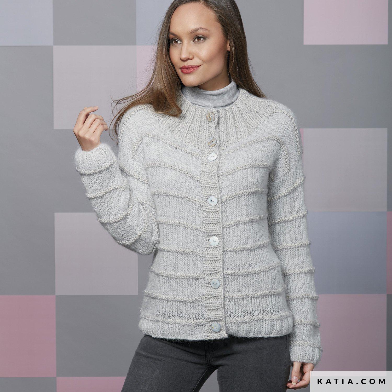 Chaqueta - Mujer - Otoño / Invierno - patrones | Katia.com