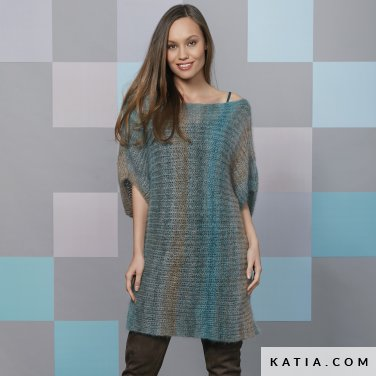 pattern knit crochet woman dress autumn winter katia 6092 39 p