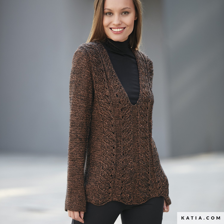 sweater woman autumn winter models amp patterns