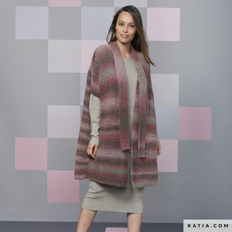 Cappotto Donna Autunno Inverno Modello Schemi Katiacom