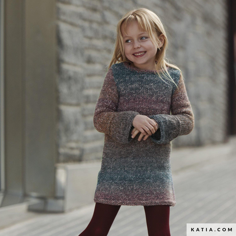 Kleid Kinder Herbst Winter Modelle Anleitungen Katiacom