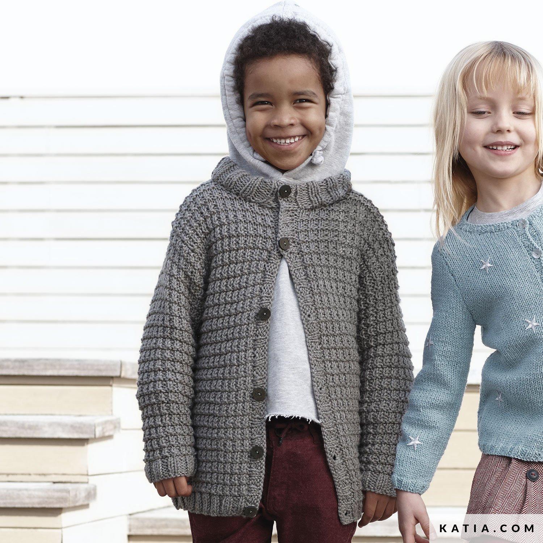 Chaqueta - Niños - Otoño / Invierno - patrones | Katia.com