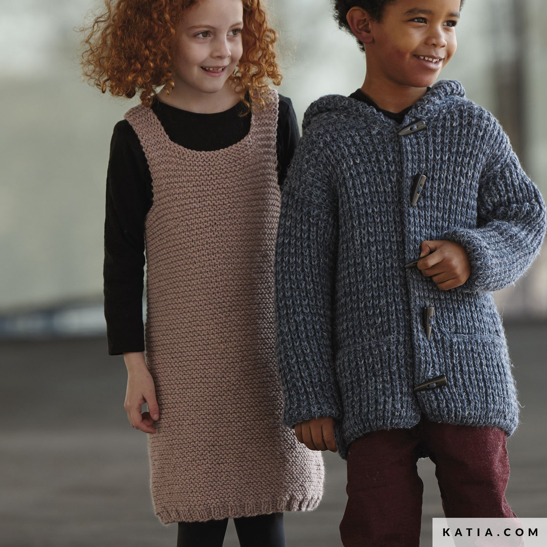 Vestido - Niños - Otoño / Invierno - patrones | Katia.com