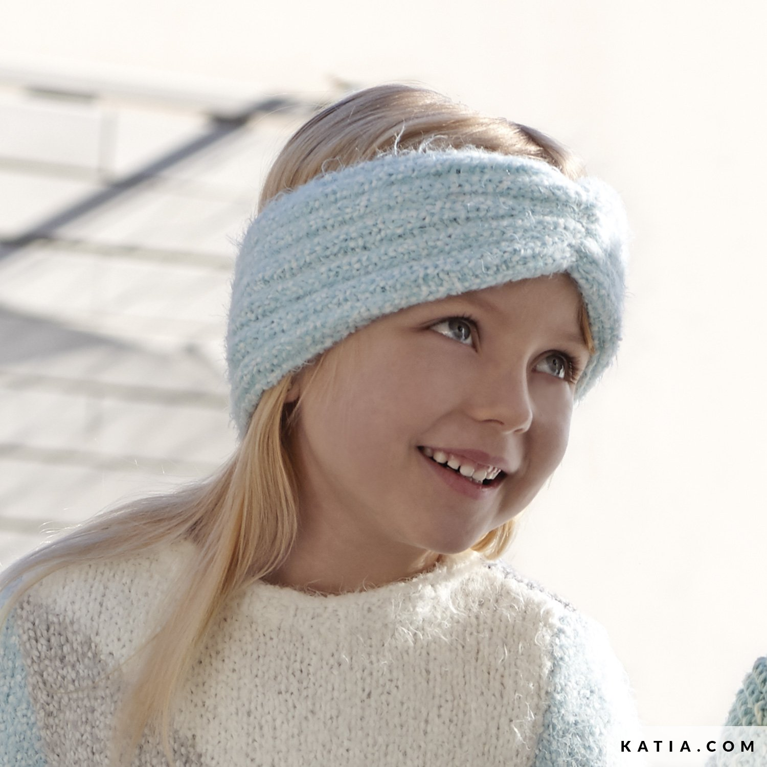 b4ef5456982 pattern knit crochet kids headband autumn winter katia 6099 1 g