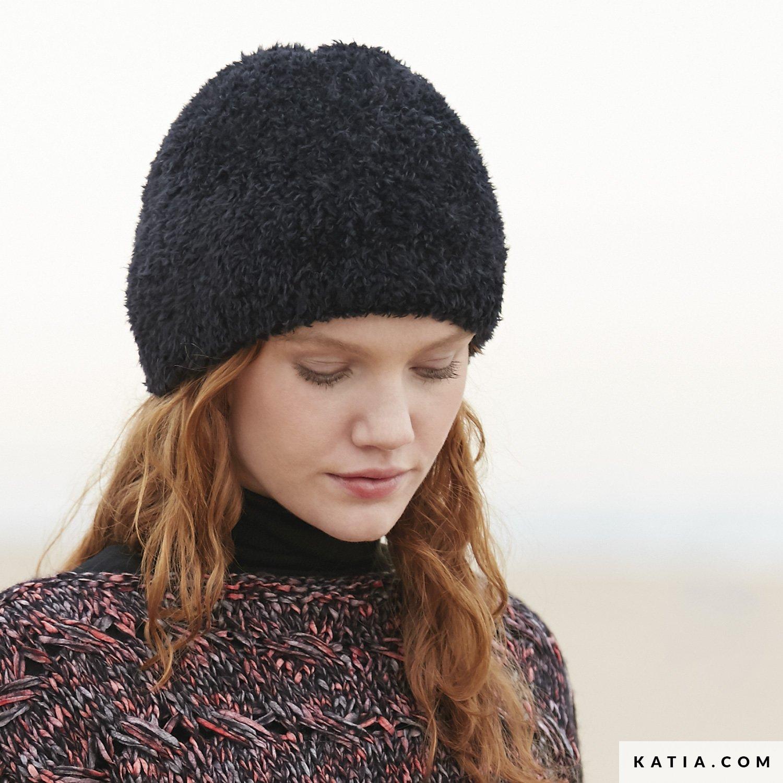7b2aa7c3cbf patron tricoter tricot crochet femme bonnet automne hiver katia 6100 39 g