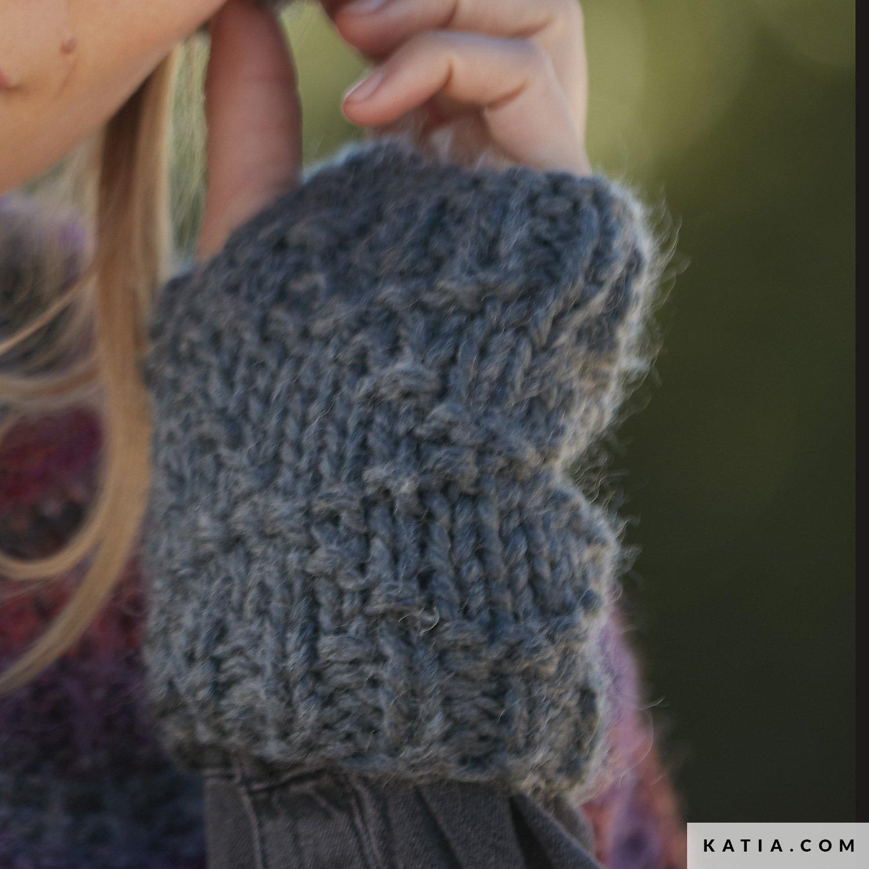 Armwarmers Dames Herfst Winter Modellen Patronen Katiacom