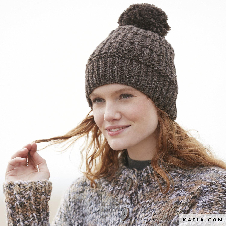 Cap - Woman - Autumn / Winter - models & patterns | Katia com