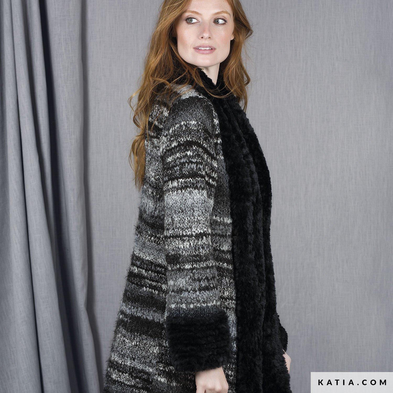 Abrigo - Mujer - Otoño / Invierno - patrones | Katia.com