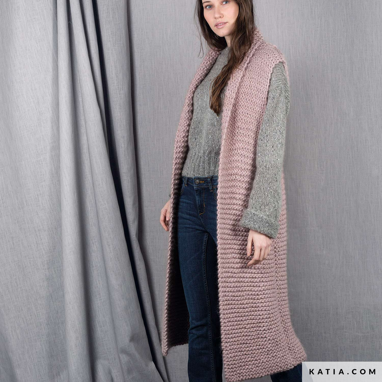 Chaleco - Mujer - Otoño / Invierno - patrones | Katia.com