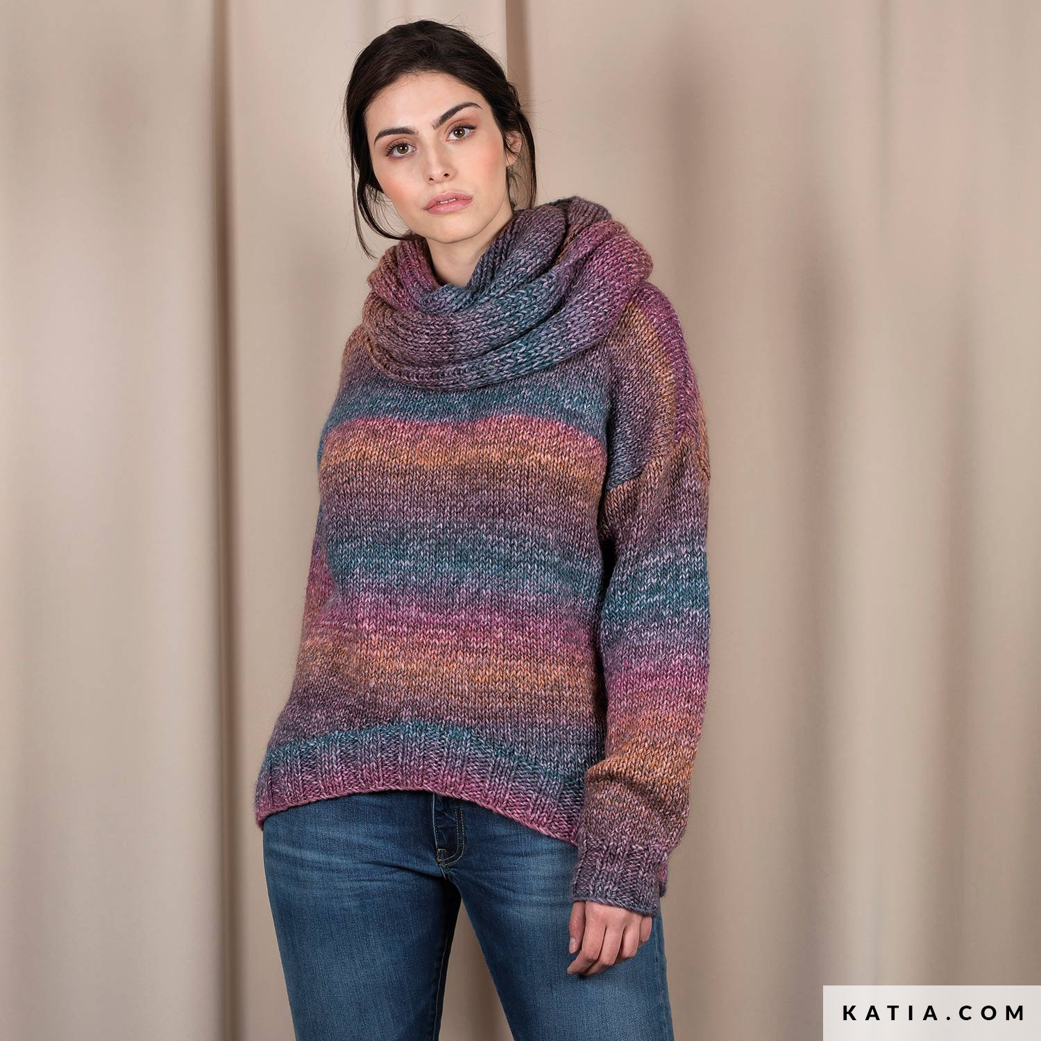 pull femme automne hiver