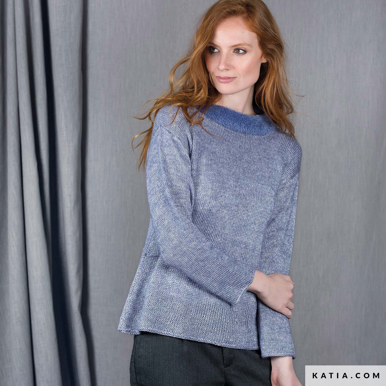 Trui Dames Herfst Winter Modellen Patronen Katiacom