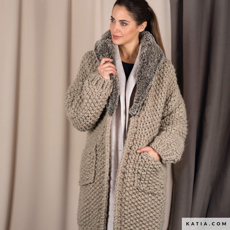 Coat Woman Autumn Winter Models Patterns Katiacom