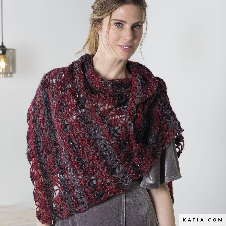 2019 mejor venta colores delicados servicio duradero Chal - Mujer - Otoño / Invierno - patrones | Katia.com
