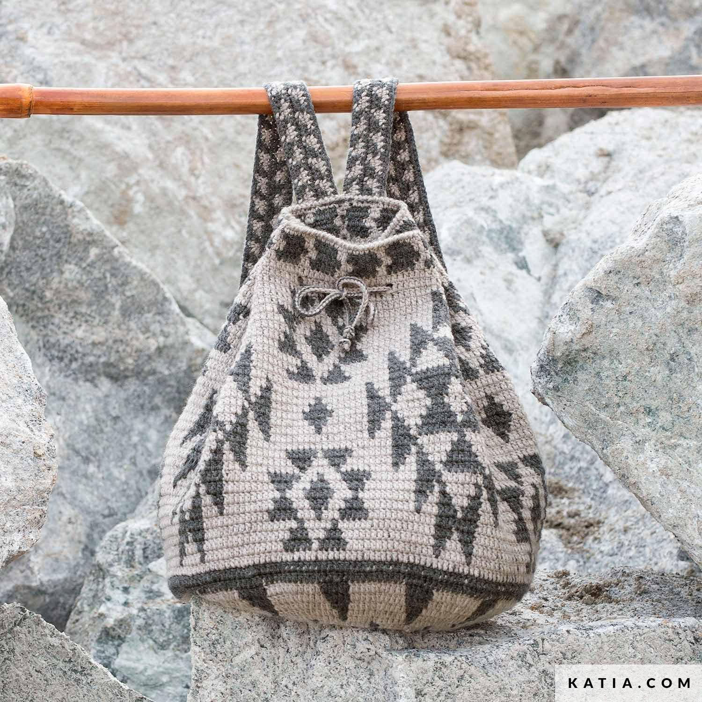 comprando ahora estilo de moda de 2019 el precio más bajo Mochila - Mujer - Otoño / Invierno - patrones | Katia.com