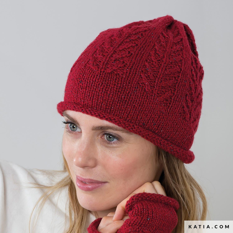 Bonnet - Femme - Automne   Hiver - modèles   patrons   Katia.com 5165e5694ec