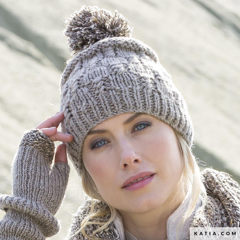 Muts Dames Herfst Winter Modellen Patronen Katiacom