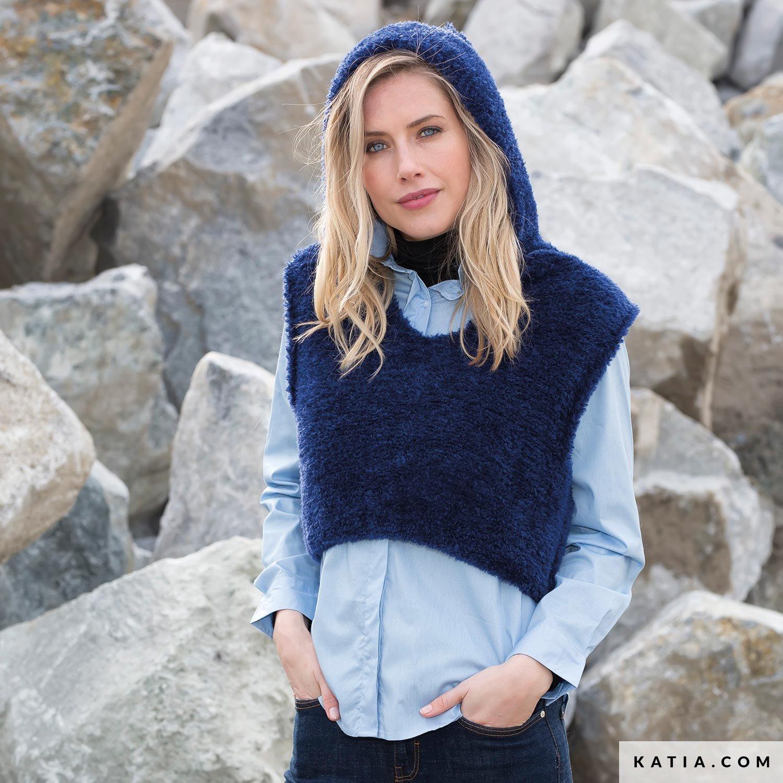 Vest Dames Herfst Winter Modellen Patronen Katiacom