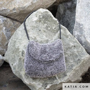 pattern knit crochet woman bag autumn winter katia 6102 18 p