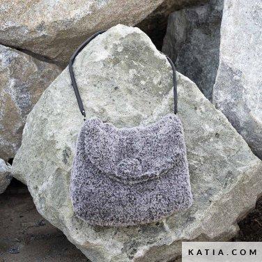 pattern knit crochet woman bag autumn winter katia 6102 18 p