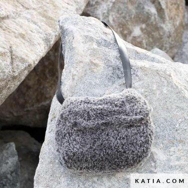 pattern knit crochet woman bag autumn winter katia 6102 51 p