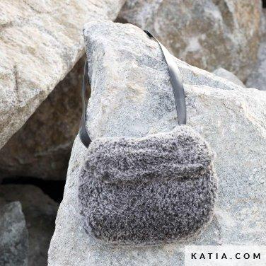 pattern knit crochet woman bag autumn winter katia 6102 51 p