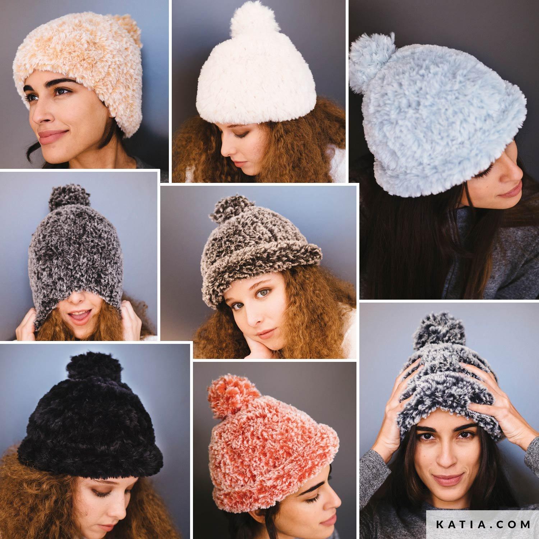 Mütze Damen Herbst Winter Modelle Anleitungen Katiacom