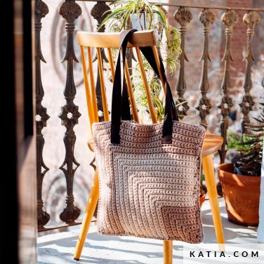 pattern knit crochet woman bag autumn winter katia 6103 19 p