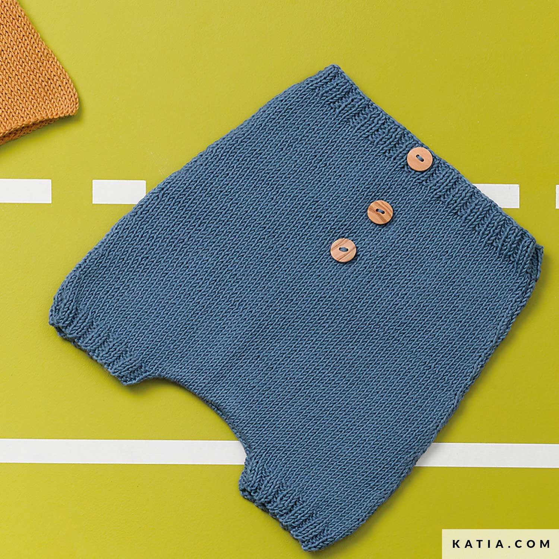 Fonkelnieuw Broek - Baby - Lente / Zomer - modellen & patronen | Katia.com ET-67