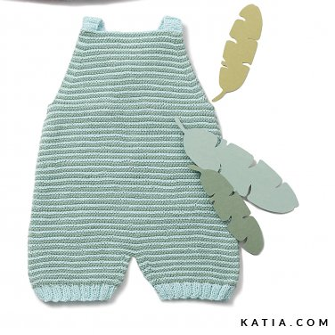 patroon breien haken baby kruippakje lente zomer katia 6120 43 p