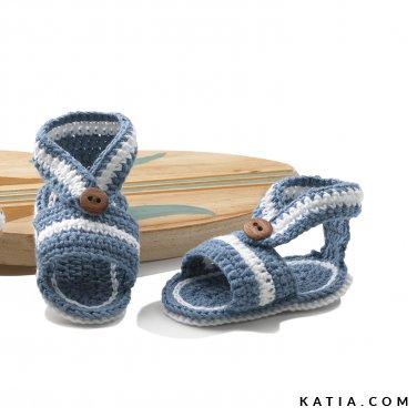 patroon breien haken baby lente zomer katia 6120 33b p