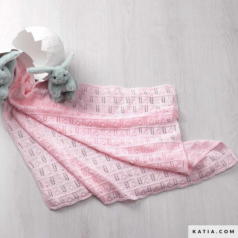 Coperta Per Neonati Bebè Primavera Estate Model Katiacom
