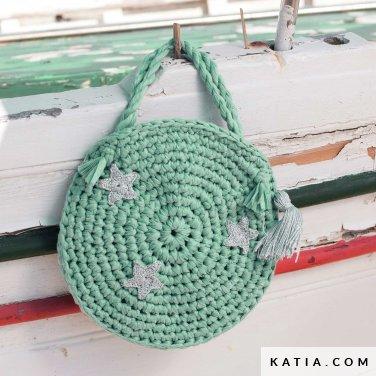 patroon breien haken kinderen tas lente zomer katia 6121 28 p