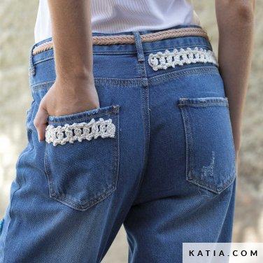 patroon breien haken dames personaliseren lente zomer katia 6122 49 p